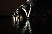 Arch Acrylic Prints - Woodrow Wilson Bridge - Washington DC - 011370 Acrylic Print by DC Photographer