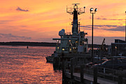 Gail Maloney - Woods Hole Sunset