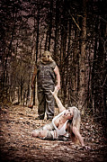 Forest Terror Prints - Woods of Terror Print by Jt PhotoDesign