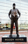 Football Coach Photos - Woody Hayes by Rachel Counts