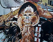 Chewbacca Paintings - Wookiees Are Known To Do That by Jeremy Moore