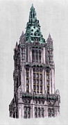 Woolworth Building New York City Print by Gerald Blaikie