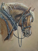 Blinders Prints - Work Horse Print by Callie Smith