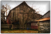 Tamera James Prints - Working Barn Print by Tamera James