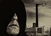 Black And White Photography Metal Prints - Working Class Man Metal Print by Bob Orsillo