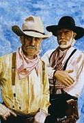 Lonesome Dove Posters - Working Lonesome Dove Poster by Peter Nowell