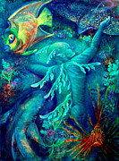 Sealife Mixed Media - World by Ashley Kujan