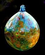 Rosanne Jordan Posters - World Colors in Glass Poster by Rosanne Jordan