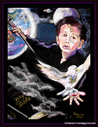 Creation Pastels Posters - World of Creation Poster by Keith OBrien Simms