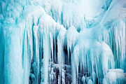 Ice Sculpture Framed Prints - World of Ice Framed Print by Daniel Zrno