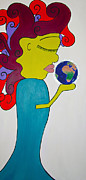World Peace Originals - World Peace by Luisa Padro