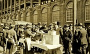 Hot Dog Photos - World Series 1920 by Benjamin Yeager