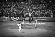 Fenway Park Prints - World Series Game Six 1 Print by Paul Treseler