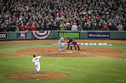 Fenway Park Prints - World Series Game Six 2 Print by Paul Treseler