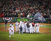 Red Sox Nation Posters - World Series Game Six 6 Poster by Paul Treseler