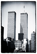 John Rizzuto Framed Prints - World Trade Center 1990s Framed Print by John Rizzuto