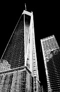 Wtc Prints - World Trade Center New York City Print by Art Kardashian