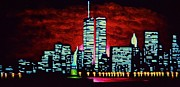 Liberty Paintings - World Trade Center  SOLD by Thomas Kolendra
