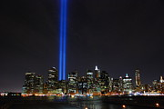 Broker Photos - World Trade Center Tribute Lights by Louis Scotti