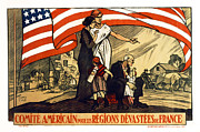Us Propaganda Photos - World War 1 Relief - France - 1917 by Daniel Hagerman