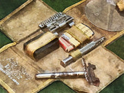 Profession - Barber - World War I Shaving Kit by Susan Savad