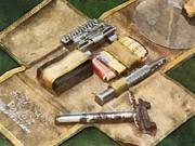 Profession - Barber - World War I Shaving Kit by Susan Savad