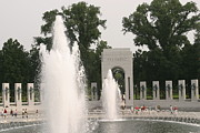 District Posters - World War II Memorial - Washington DC - 011321 Poster by DC Photographer