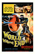 Movie Mixed Media - World without End 1956 by Presented By American Classic Art
