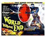 Vintage Memorabilia Prints - World Without End Poster Print by Sanely Great