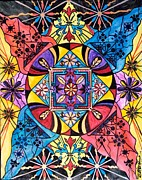 Mandala Prints - Worldly Abundance Print by Teal Eye  Print Store