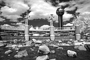 Infrared Framed Prints - Worlds Fair Park in Knoxville - Infrared Framed Print by Paul W Faust -  Impressions of Light