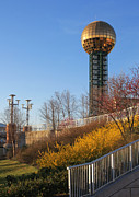 Tennessee Landmark Prints - Worlds Fair Park Print by Melinda Fawver