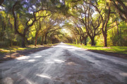 Linda  Blair - Wormsloe Plantation