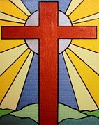 Priests Paintings - Worship the Lord by Jean Walker