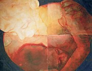 Breastfeeding Paintings - Wound by Graham Dean