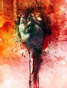 Emotion Metal Prints - Wounds Metal Print by Mario Sanchez Nevado