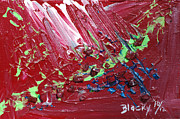 Abstract Expressionist Art - Wounds That Dont Heal by Donna Blackhall
