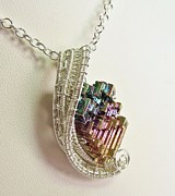 Heather Jordan - Woven Bismuth Crystal...