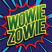 Modern Pop Art Prints - Wowie Zowie Print by Gary Grayson