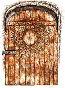 Karen Sirard - Wreath on Door