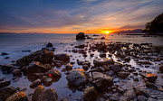 Colorful Sunset Prints - Wreck Beach Print by Alexis Birkill