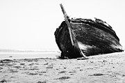Wreckage On The Bay Print by Marco Oliveira