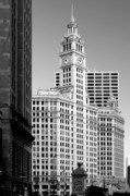 Scenic Views Posters - Wrigley Building - a Chicago original Poster by Christine Till