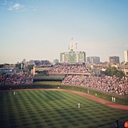 Sports Art - Wrigley by Mike Maher