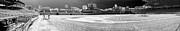 Wrigley Panorama Print by David Bearden