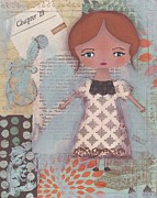 Author Mixed Media Prints - Write Your Story Print by Trenda Marie Plunkett