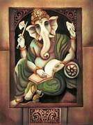 Writing Ganesh Print by Vishwajyoti Mohrhoff