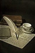 Teacup Prints - Writing Print by Joana Kruse