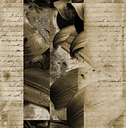 19th Century America Mixed Media Posters - Written II Poster by Yanni Theodorou
