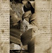 Written II Print by Yanni Theodorou
